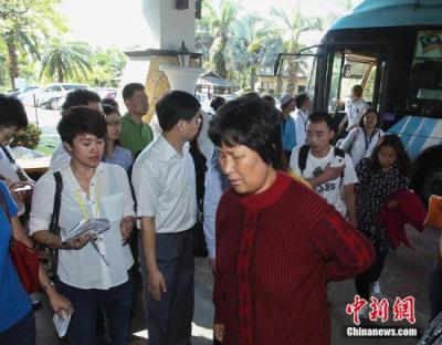 马航/当地时间2014年3月11日,马来西亚吉隆坡,首批马航失联者中国...