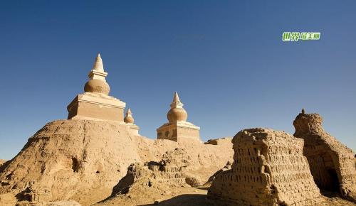 丝绸之路 大漠黑城