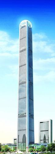 天津117大厦成世界第二高楼