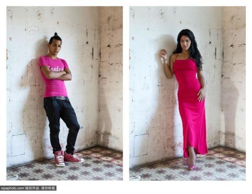 摄影师拍摄古巴变性人手术前后对比图